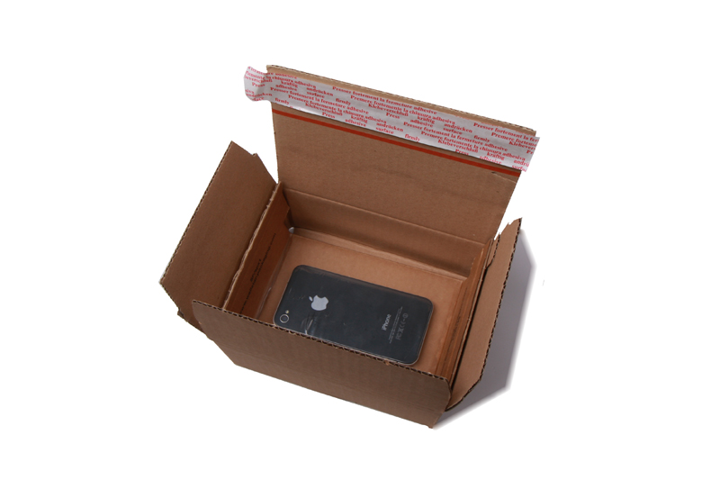 Spanfolieverpakking - Bruin