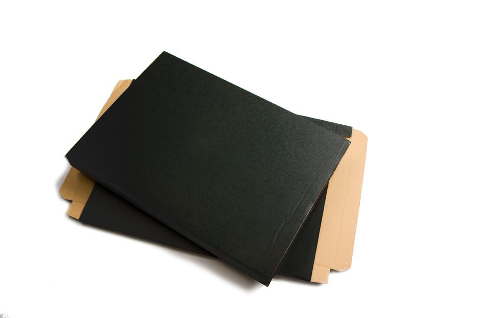 Brievenbusdozen mat gekleurd - Zwart