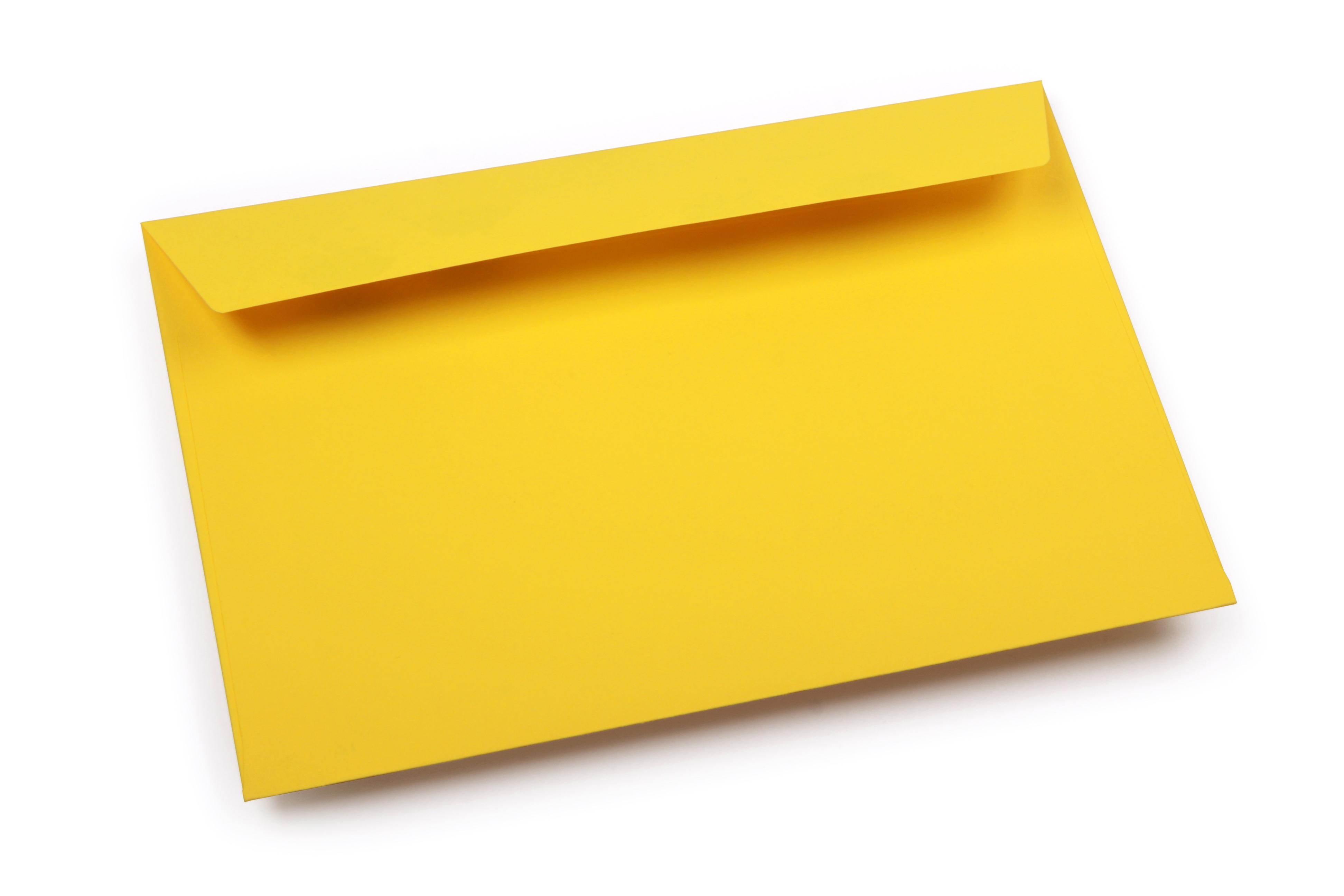 blauwe enveloppen