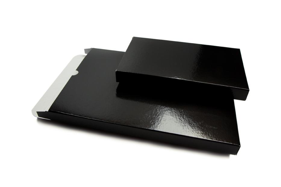 Brievenbusdozen glanzend gekleurd - Zwart